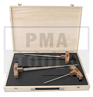 ERGO Kit de enhebradores Profesional, 3 pzas. con maletín