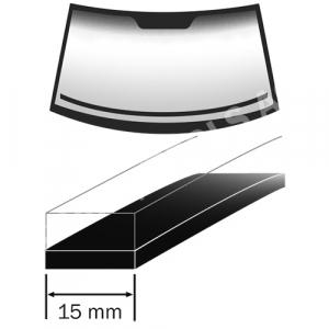 BMW X4 G02, 18-, Perfil espuma salpicadero, 1,5 m, 15 mm