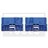 AUDI A6 Berlina, 97-04, Juego reparación guía ventanilla, azul, 2 pzas.