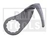 FEIN Cuchilla 212 forma de U, diseño reforzado, dentada, 38 mm, 2 pzas.