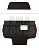 MERCEDES Actros 2300 mm, 12-, Almohadillas soporte de cámara LDW, 5 pzas.