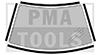 HONDA Civic 4/5p, 16-, Juego molduras PB autoadh., 4 pzas.