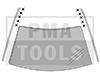 MERCEDES Clase A W169, 04-12, Juego grapas PB techo, 10 pzas.
