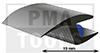 ProFlexx Perfil universal con butilo, 19 mm, 30 m