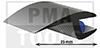 ProFlexx Perfil universal con butilo, 25 mm, 30 m