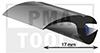 ProFlexx Perfil universal con butilo, 17 mm, 23 m